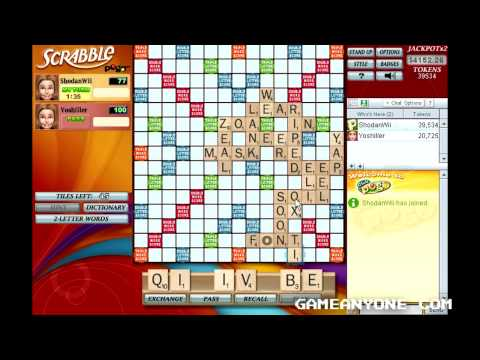 Scrabble - Pogo Games - Co-op With Yoshiller [4]