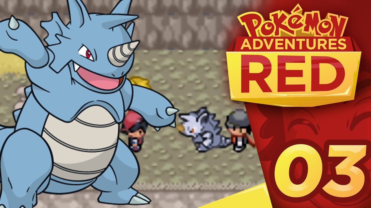 pokemon adventures red chapter part 3 attack on mt moon youtube