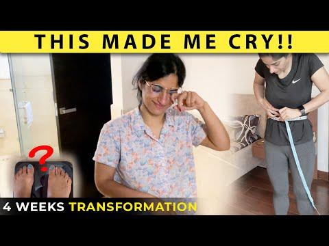My Weight after 4 Weeks of Weight Loss Journey | Day 29 of GunjanShouts #30DayWeightLossChallenge