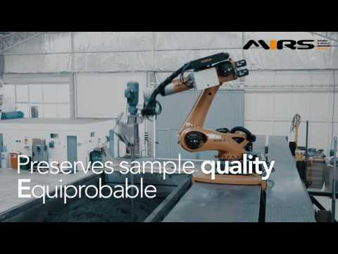 MI Robotic Sampler Robotic Collector of Concentrate Samples from trucks