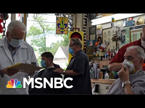 Dallas County Judge: Sustainable Recovery Means 'Not Opening Too Soon' | The Last Word | MSNBC