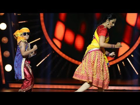 D4 Junior Vs Senior I Unnikuttan's ayyayyo performance I Mazhavil Manorama