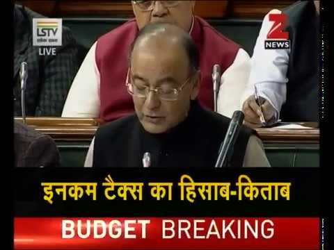 Watch - Key highlights of Union Budget 2017