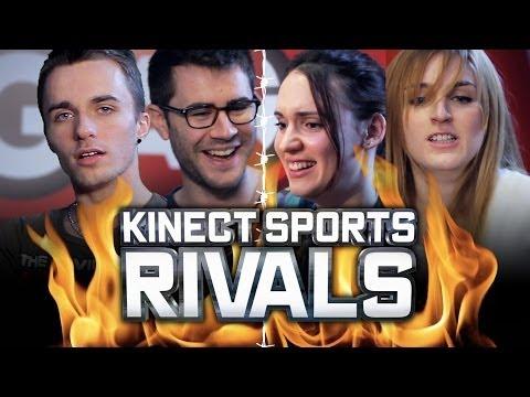 Kinect Sports Rivals : L'AFFRONTEMENT ! (Natoo, Alison, Cyprien, Squeezie)