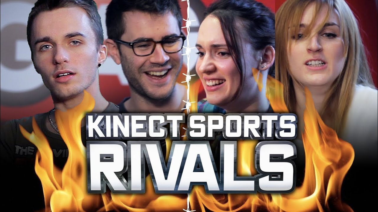 Kinect Sports Rivals : L'AFFRONTEMENT ! (Natoo, Alison, Cyprien, Squeezie)