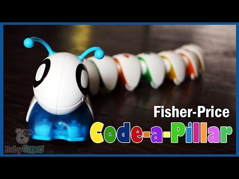 Fisher Price Code-a-Pillar Review By Baby Gizmo