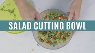 Salad Cutting Bowl | Pampered Chef