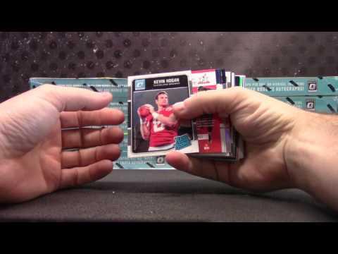 2016 Donruss Optic Football 12 Box Case 'Random Teams' GB Part 1/2