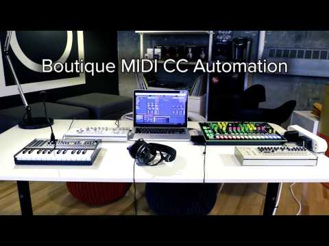 Automate MIDI on your Roland Boutique with Ableton Live