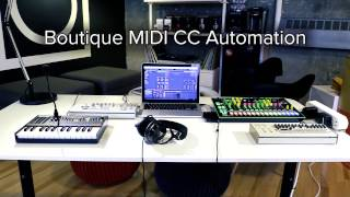 Download lagu Automate MIDI on your Roland Boutique with Ableton Live MP3