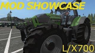 DEUTZ FAHR AGROTRON L/X 700 SERIES / MOD SHOWCASE / Farming Simulator 2017