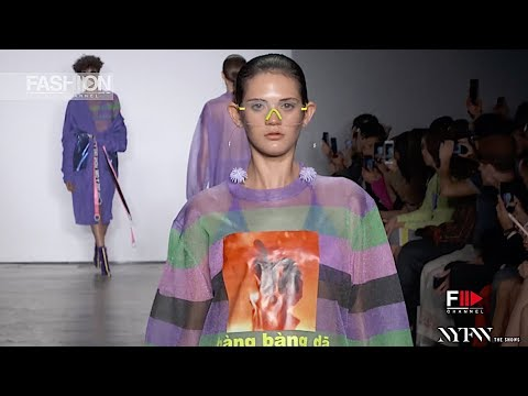 HUAJIASTUDIO - ICY SUPERNOVA Spring Summer 2019 New York - Fashion Channel