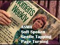 ASMR Looking at Vintage Magazines from 1967-1975 Soft Spoken