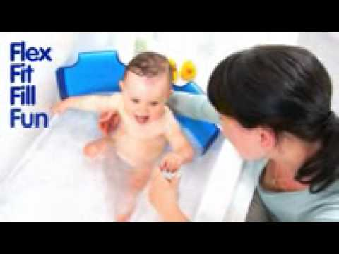r ducteur de baignoire baby youtube. Black Bedroom Furniture Sets. Home Design Ideas