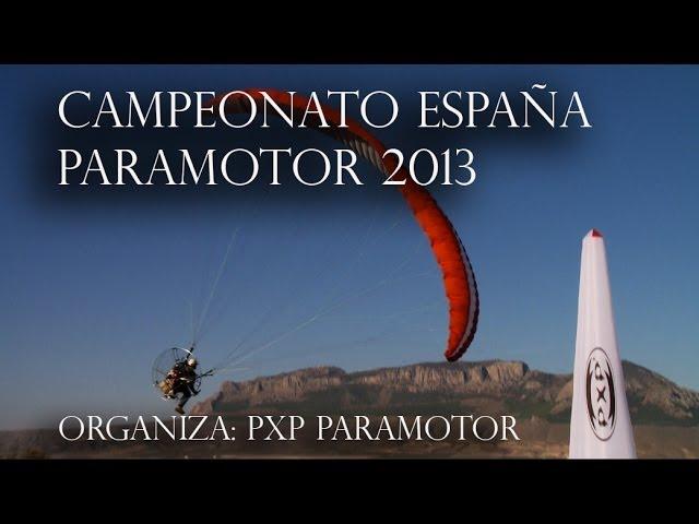 PXP Paramotor - Cto. España PPG 2013