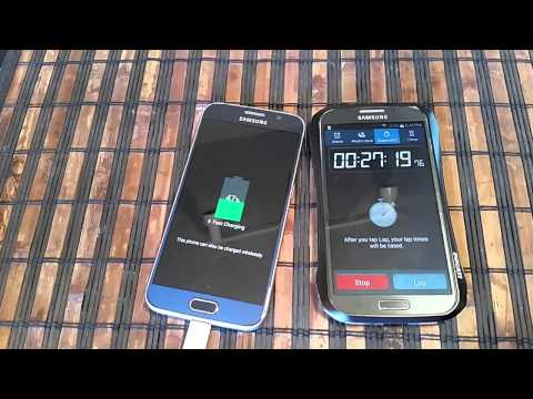 Samsung Galaxy S6 - Rapid Charging Time 0 to 100%