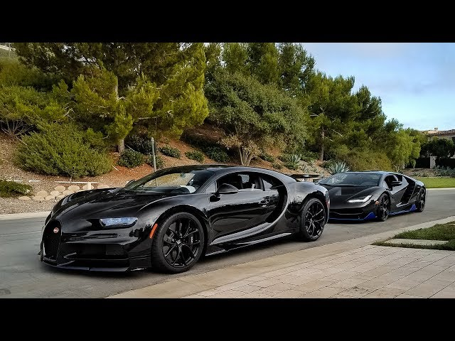 RACING a $3.5 Million Bugatti Chiron: LEFT IN THE DUST