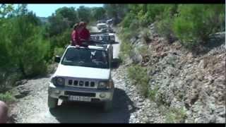 jeep safari- mallorca  2013 - off- roud tour at mallorca - french video