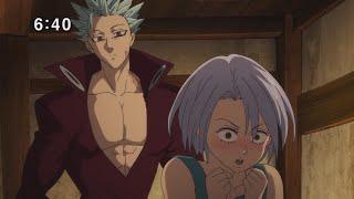 Семь смертных грехов Nanatsu No Taizai   Смешные моменты. Аниме приколы. 2 сезон.