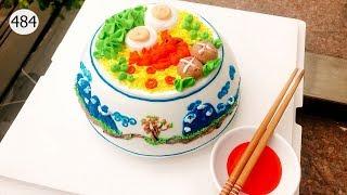 chocolate cake decorating (484) Làm Bánh Kem Đơn Giản - Tô Mì (484)