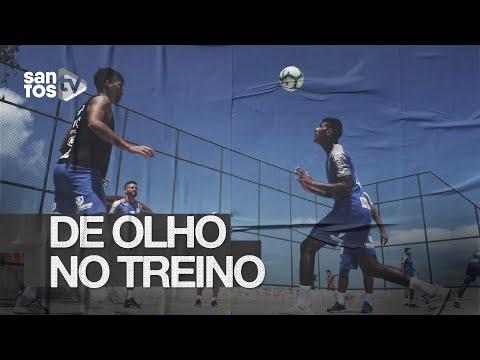 SANTOS TREINA EM FORTALEZA E FOCA NA CHAPECOENSE | DE OLHO NO TREINO (29/11/19)