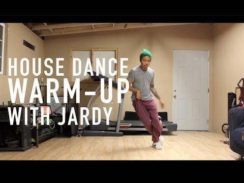 House Dance Tutorial - 5-Minute Warmup (Read Description)