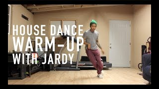 house dance tutorial 5 minute warmup read description