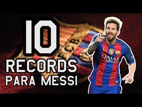 10 RECORDS que le FALTAN a MESSI después de RENOVAR con el BARCELONA