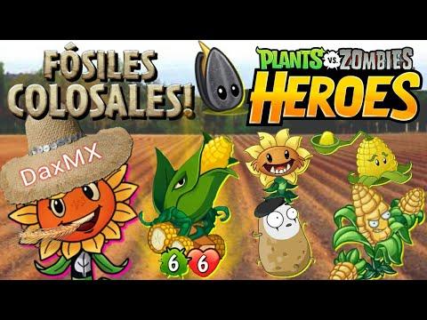 PvZ Heroes | El Poderoso Mazo Colosal de Destello Solar, Mazorcañon y Evolución