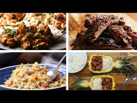 A Tour Of Delicious Asian-Inspired Dinner Recipes