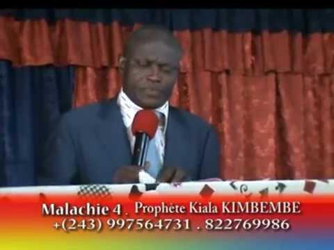 MALACHIE 4 TROISIEME PARTIE PAR LE PROPHETE KIALA