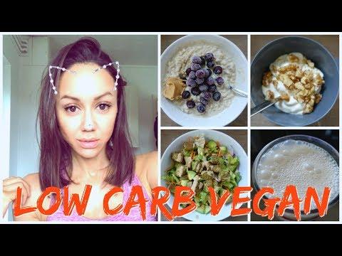 LOW CARB VEGAN🌱 / LOW CALORIES😬 WHAT I EAT | BIKINI PREP