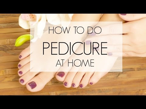 How to do a Pedicure at Home   corallista