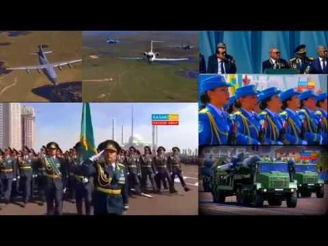 Қазақстан, Казахстан: Отан Қорғаушы күні | День Защитника Отечества | #Астана