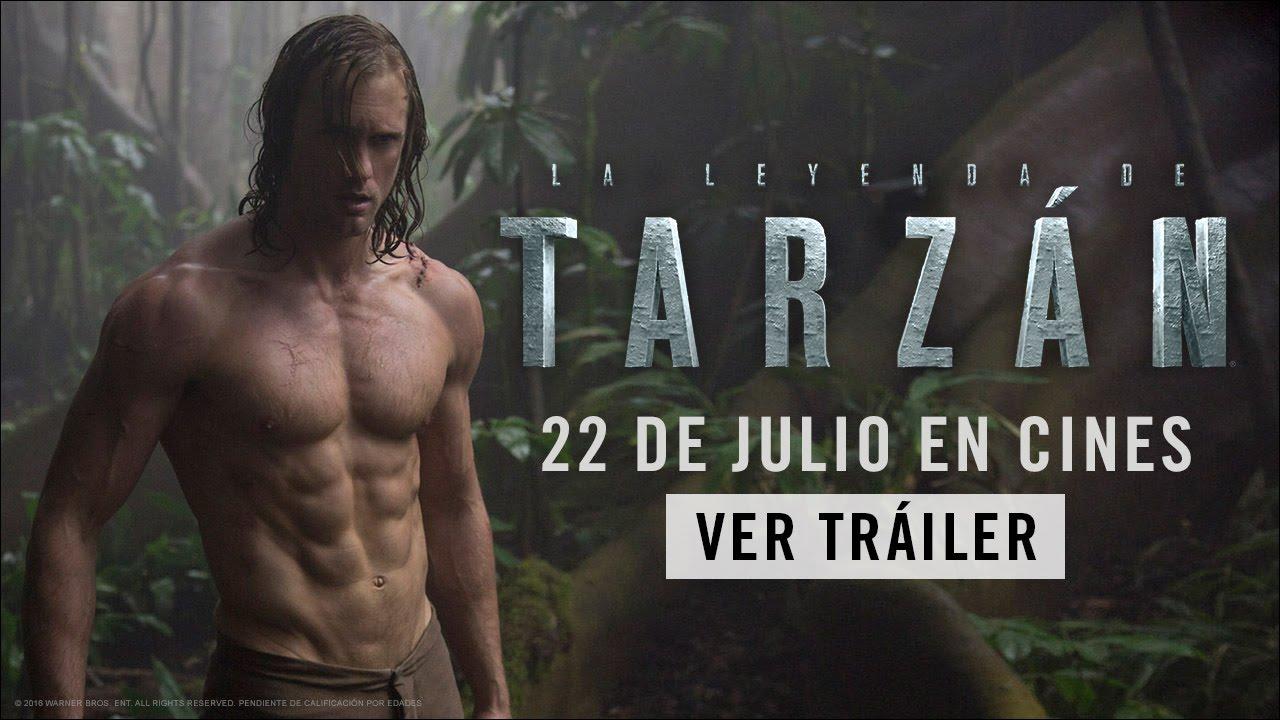 La Leyenda De Tarzán Tráiler Oficial En Castellano Hd Youtube