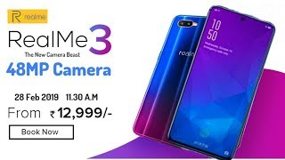 Realme 3 Pro - 48MP Camera, design, price, features & Release date