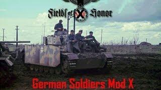 German Soldiers Mod ВТВ2 Штурм. Захват флагов 3vs3.GSM for Men of War: Assault Squad 3vs3  #3