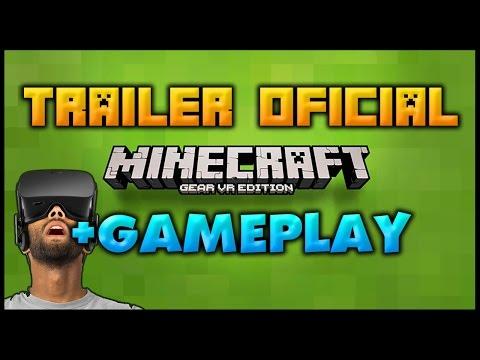 Minecraft Gear VR Edition TRAILER  +Gameplay Extra
