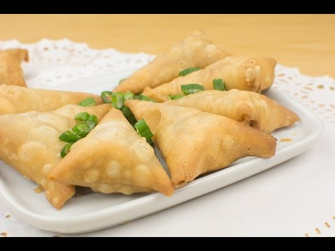 Chicken Recipes:  How to make Samosa Recipe | Afropotluck