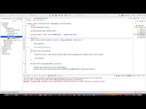 JavaFX play audio in 1 min
