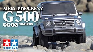 Load Video 2:  Tamiya 1/10 Mercedes-Benz G 500 CC-02