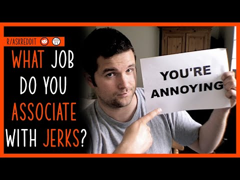 What job or activity do you normally associate with jerks? #shorts (r/AskReddit)