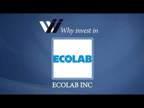 Ecolab Inc - Why Invest in