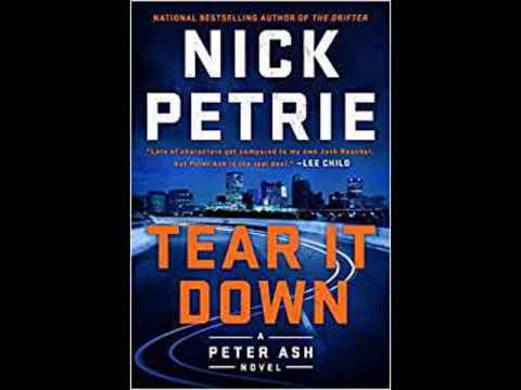 """Book Talk"" guest Nick Petrie author ""Tear it Down"" a Peter Ash Novel Mp3"
