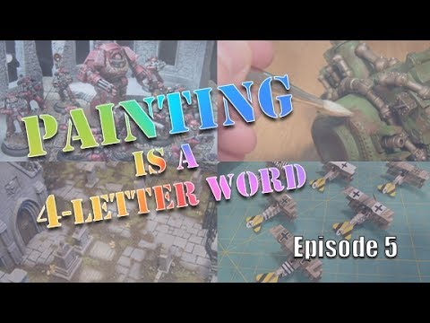 Painting is a 4-Letter Word. Episode 5.