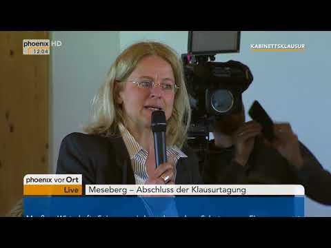 Pressekonferenz mit Bundeskanzlerin Angela Merkel und Olaf Scholz am 11.04.18