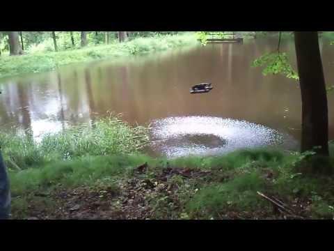 AR drone 2.0 Water landing (floating gear)
