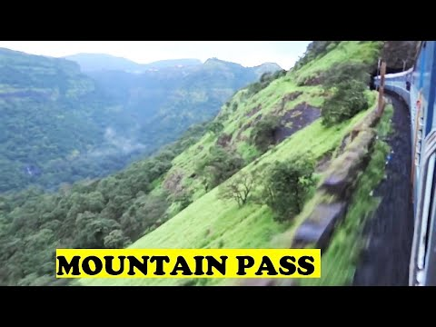 Indore Pune Express Cruises Bhor Ghats / Mountain Pass