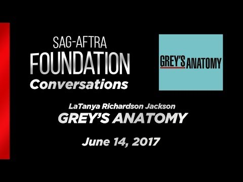 Conversations with LaTanya Richardson Jackson of GREY'S ANATOMY