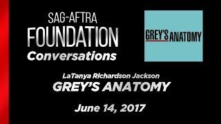 Conversations with LaTanya Richardson Jackson of GREY'S ANATOMY
